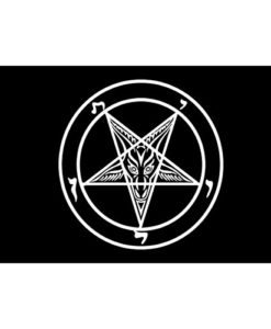 satanic altar cloth